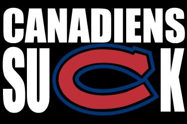 CanadiensSuck